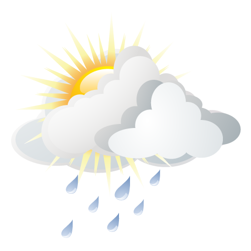 Wetter in Bad Mergentheim: Regenschauer